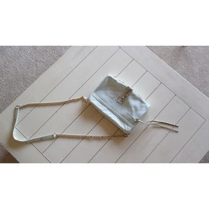 Rebecca Minkoff baby blue M.A.C. Crossbody handbag